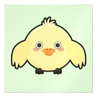 Kawaii Chick Magnetic Card