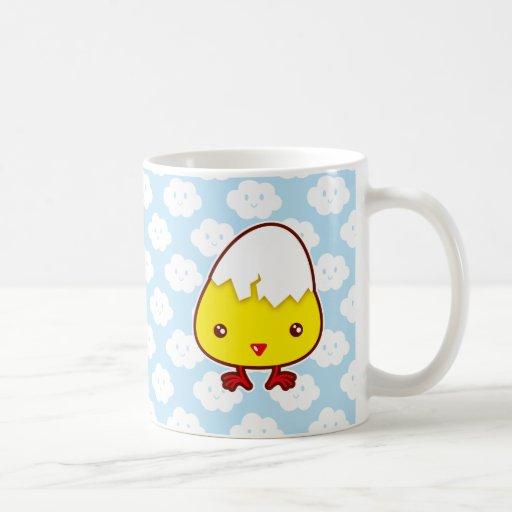 Kawaii chick mug