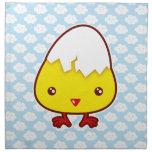 Kawaii chick napkin