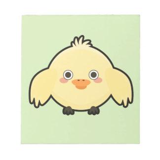 Kawaii Chick Notepads