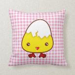Kawaii chick pillows