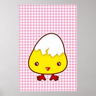 Kawaii chick posters