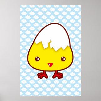 Kawaii chick print
