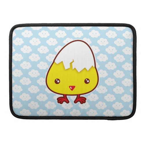 Kawaii chick sleeves for MacBook pro