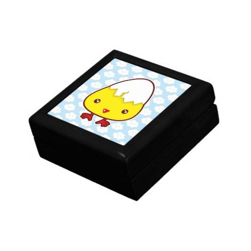 Kawaii chick trinket boxes