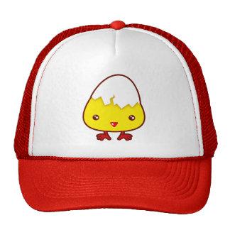 Kawaii chick trucker hat