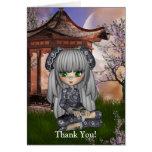 Kawaii China Doll Card Greeting Card