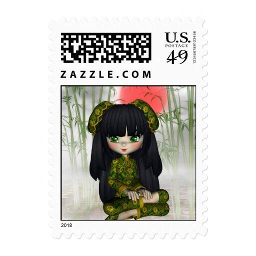 Kawaii China Doll Postage