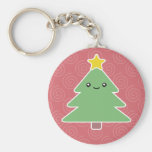 Kawaii Christmas Tree Keychain