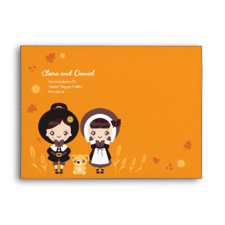 Kawaii Clara - Thanksgiving Envelope