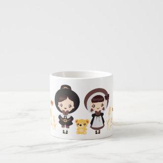 Kawaii Clara - Thanksgiving Espresso Cup