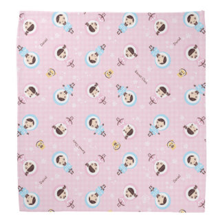 Kawaii Clara - Winter (pink) Bandana