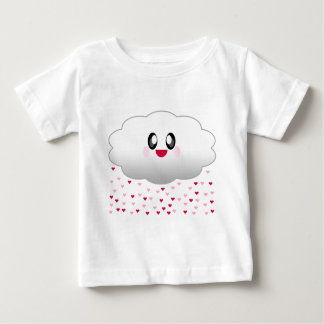 KAWAII CLOUD RAINING HEARTS LOVE BABY T-Shirt