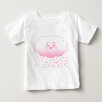 KAWAII CLOUD RAINING HEARTS LOVE SUPER SWEET BABY T-Shirt