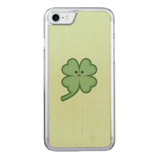 Kawaii Clover Carved iPhone 8/7 Case