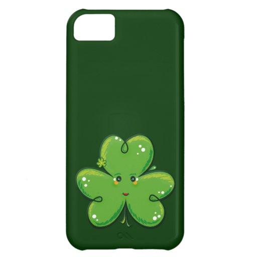 Kawaii Clover iPhone 5C Case