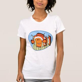 Kawaii Clownfish Ladies T-Shirt