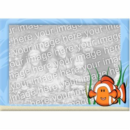 Kawaii Clownfish Photo Frame Photo Sculpture Magnet