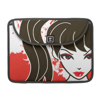 """Kawaii Coco the School Girl 13"""" MacBook Pro Sleeve"""