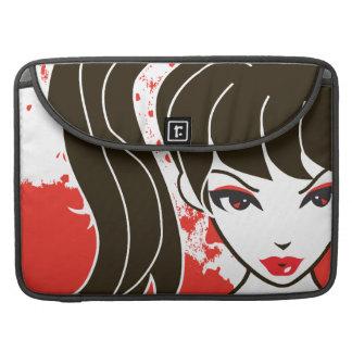 "Kawaii Coco the School Girl 15"" MacBook Sleeve Sleeve For MacBooks"