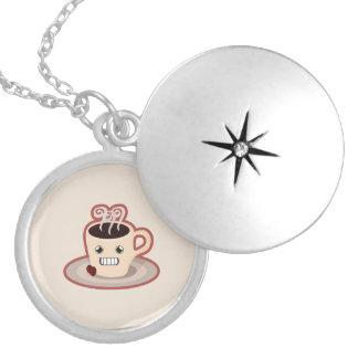 Kawaii Coffee Locket Necklace
