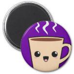Kawaii Coffee Monster Fridge Magnets