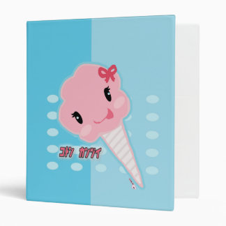 Kawaii Cotton Candy Binder