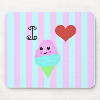 Kawaii Cotton Candy Mouse Pad