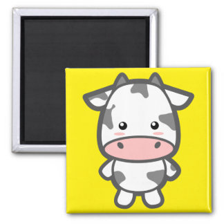 Kawaii Cow Refrigerator Magnet