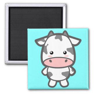 Kawaii Cow Fridge Magnet