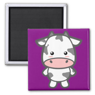 Kawaii Cow Magnet