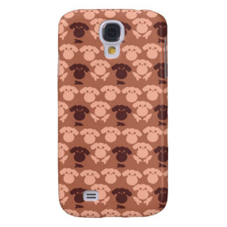 Kawaii Creepy Bunny Pattern Galaxy S4 Covers