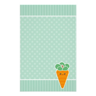 Kawaii Crunchy Carrot Stationery