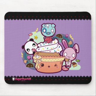 Kawaii Cupcake Attacked! Mouse Pad