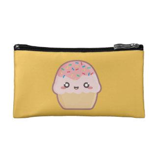 Kawaii cupcake cosmetic bag