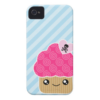 Kawaii Cupcake Barely There Case-Mate Blackberry iPhone 4 Case