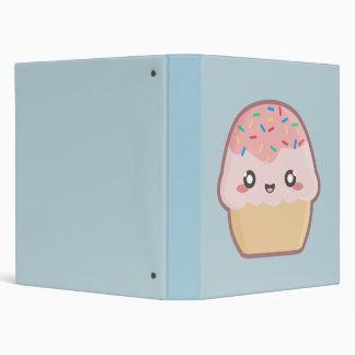 Kawaii cupcake binder