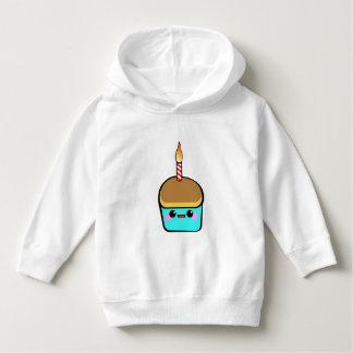 Kawaii Cupcake Character Hoodie