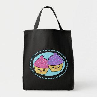 Kawaii Cupcake Friends Tote Bag