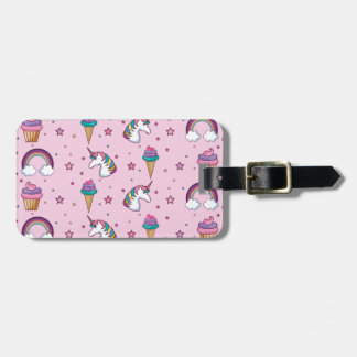 Kawaii Cupcake Icecream Unicorn Fairytale Bag Tag