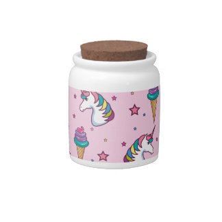 Kawaii Cupcake Icecream Unicorn Fairytale Candy Dish