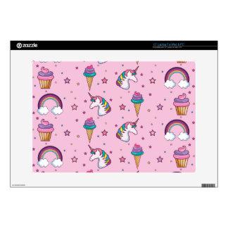 Kawaii Cupcake Icecream Unicorn Fairytale Skin For Laptop