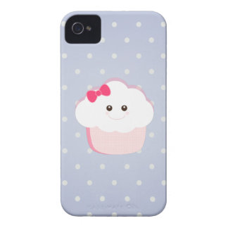 Kawaii Cupcake iPhone 4 Cover