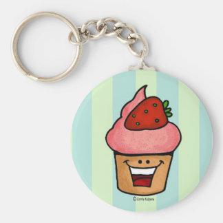 kawaii - cupcake keychain