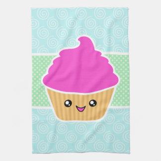 Kawaii Cupcake Kitchen Towels