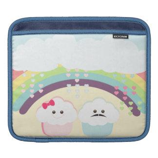 Kawaii Cupcake Love iPad Sleeves