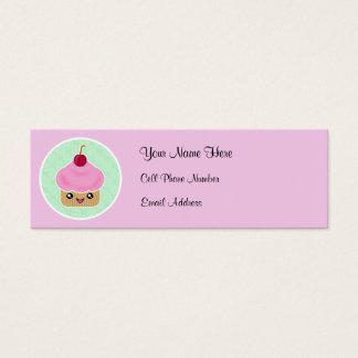 Kawaii Cupcake Skinny Profile Cards
