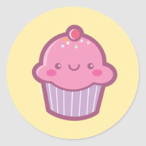 Kawaii Cupcake Stickers