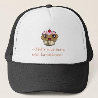 Kawaii cupcake trucker hat