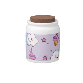 Kawaii Cupcake Unicorn Fairytale Candy Dish